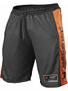 GASP №1 Mesh Shorts, Black/Flame