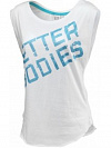 Better Bodies Casual Printed Tee, White