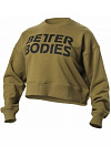 Better Bodies Chelsea Sweater, Military Green