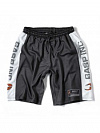 GASP №1 Mesh Shorts, Black/White