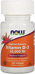 NOW Foods Vitamin D3 10 000 IU
