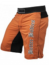 Better Bodies Flex Board Shorts, Orange/Black