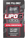 Nutrex Lipo-6 Black Ultra Concentrate
