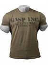 GASP Basic Utility Tee, Wash Green