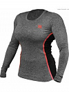 Better Bodies Performance Shape Long Sleeve, Antracite Melange