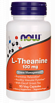 NOW Foods Theanine 100 mg