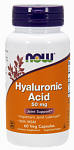 NOW Foods Hyaluronic Acid 50 mg plus MSM